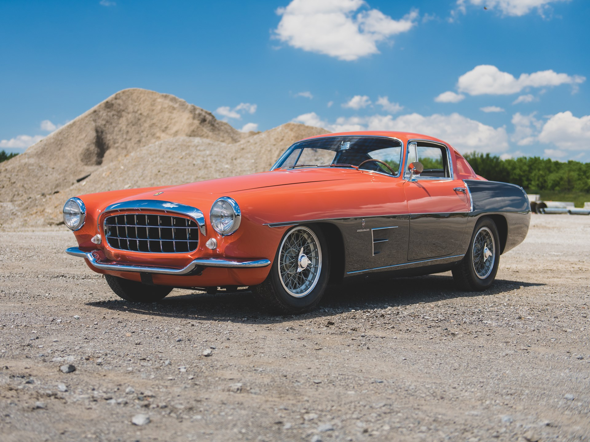 1955 Ferrari 375 MM Coupe Speciale by Ghia