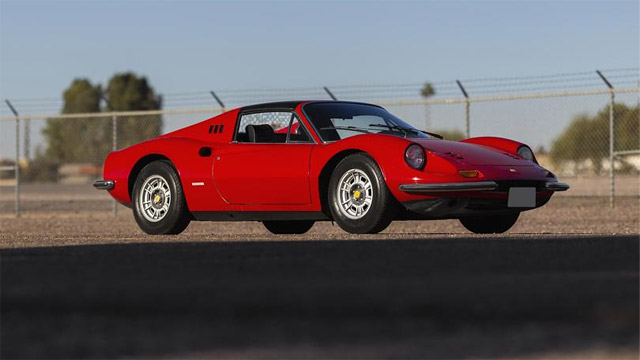 1973 Ferrari 246 GTS Targa
