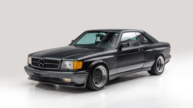 """1989 Mercedes-Benz 560 SEC """"Wide Body"""" Coupe"""