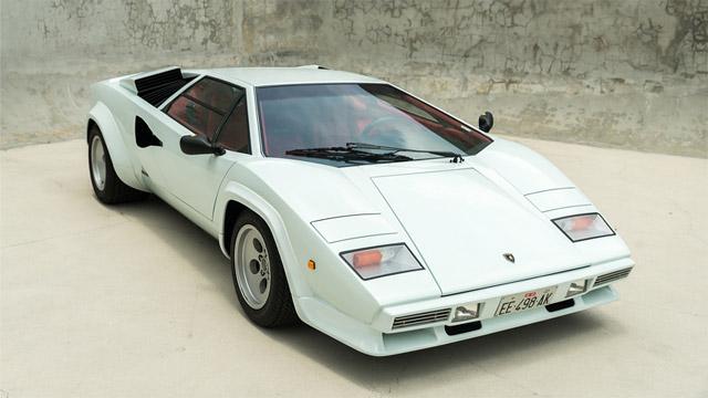 1985 Lamborghini Countach LP5000 QV Downdraft Coupe